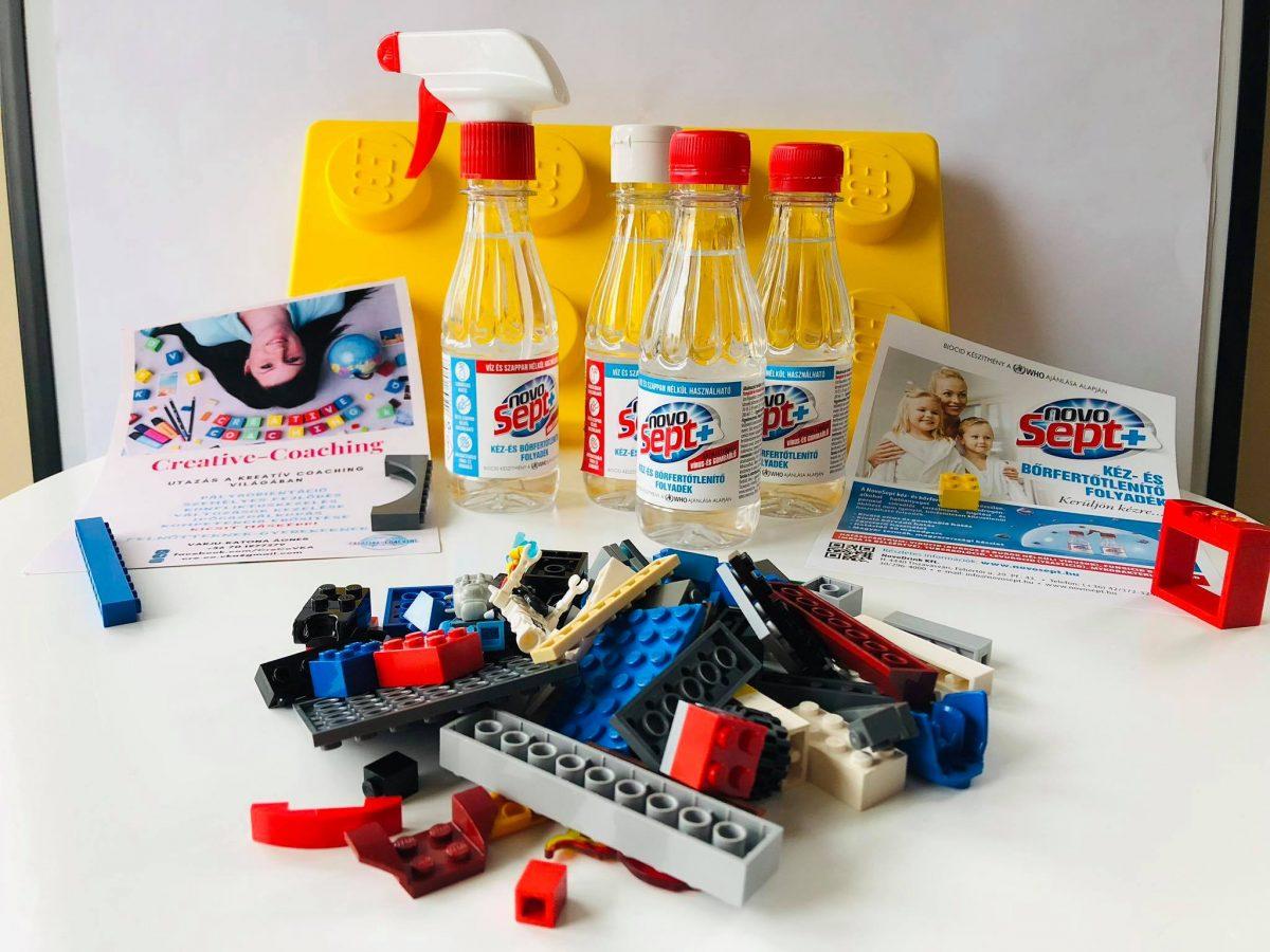 LEGO® kockák és a kovid